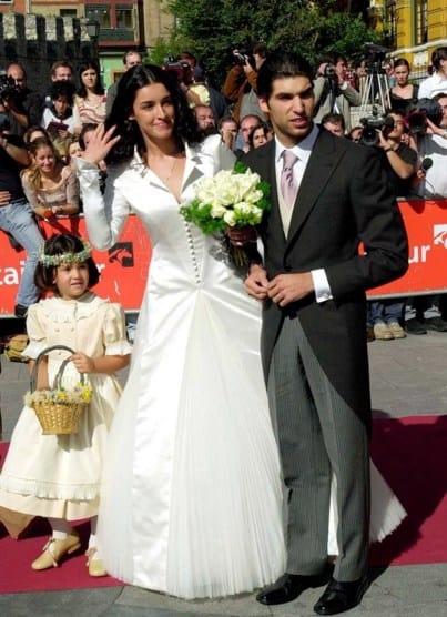 Vestido de boda de Blanca Romero