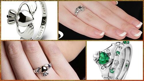 comprar Claddagh anillo