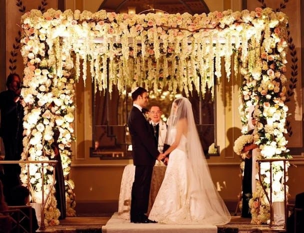 Jupá de boda judia