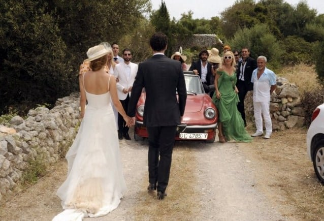 Vestido de novia de actrices españolas