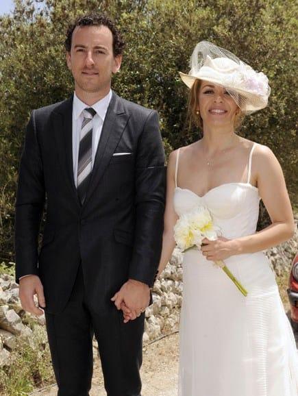 vestido de novia de María Adánez