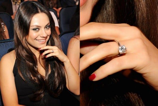 Anillo de Compromiso de Mila Kunis