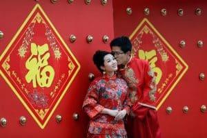 novios en china