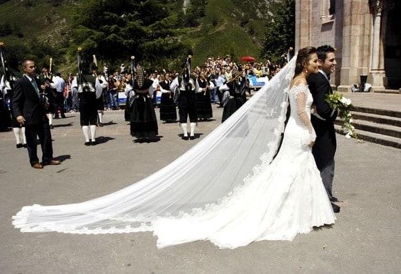 vestido de novia Paula Echevarria