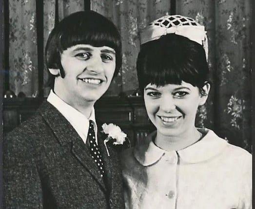 Boda de Ringo Starr y Maureen Cox