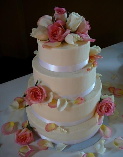 tarta de boda vegana