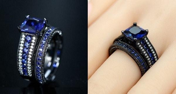 anillo princesa diana versión gótica