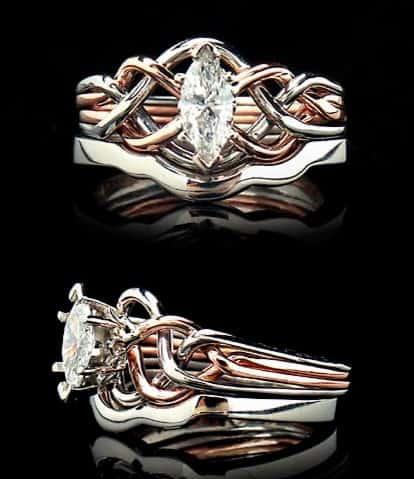 anillo diamante marquesa