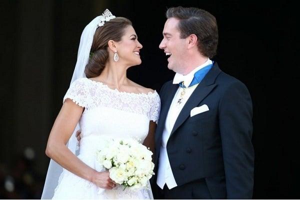 boda magdalena de suecia y Christopher O'Neill