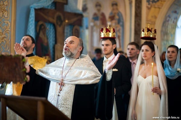 boda religiosa rusa
