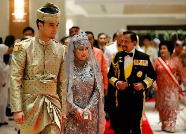 boda princesa de brunei