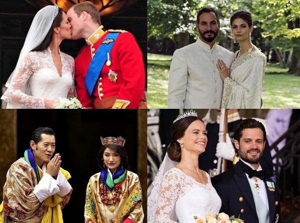 bodas reales del mundo