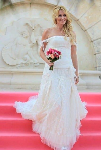 Vestido de novia Carolina Cerezuela