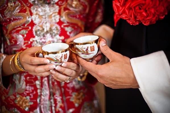 ceremonia de te en la boda