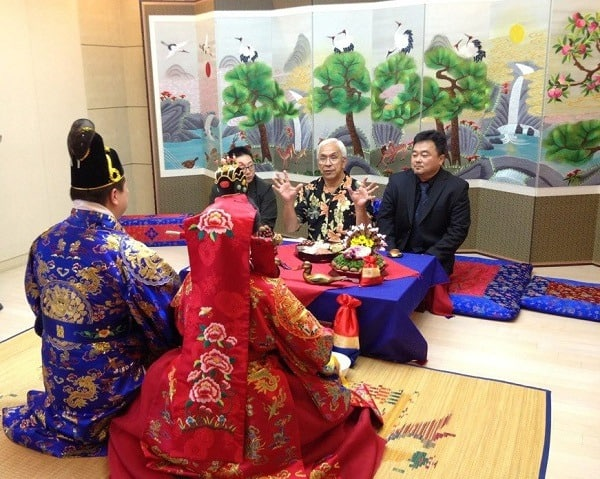 boda coreana tradicional