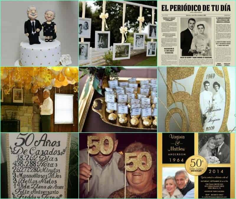 ms ideas para celebrar unas bodas de oro