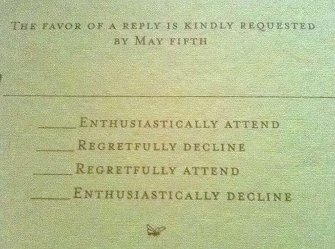 invitación con preguntas