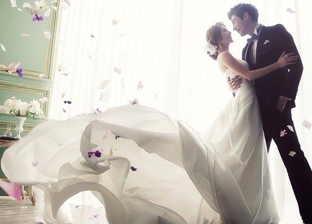 fotos profesionales de boda coreana