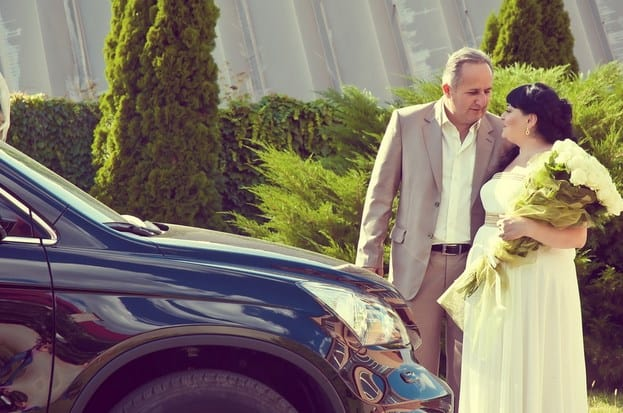 bodas de plata pareja
