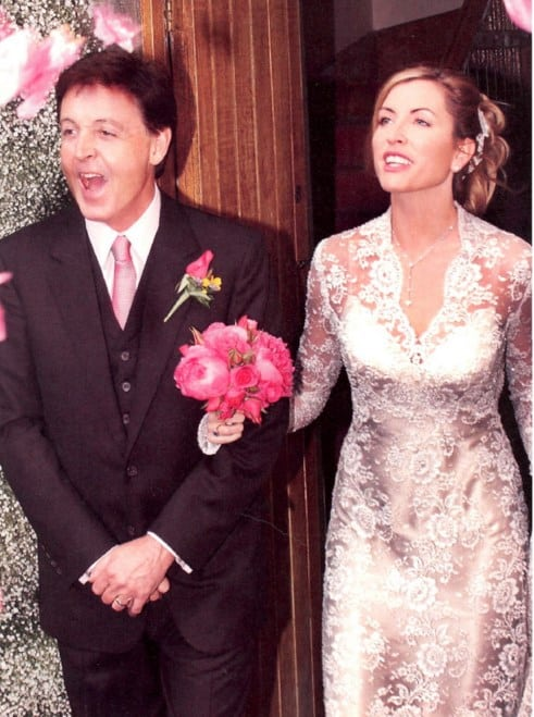 boda de Paul McCartney y Heather