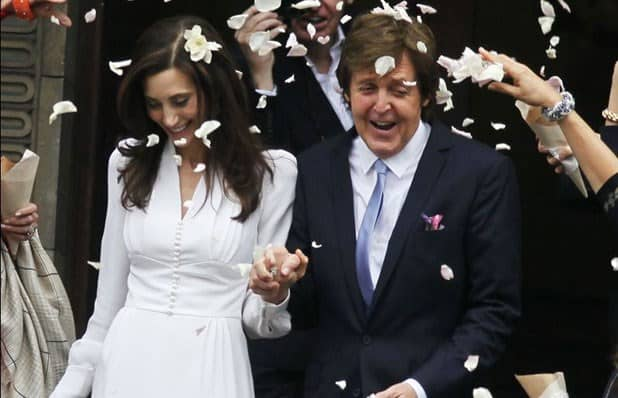 boda de McCartney con Nancy Shevell