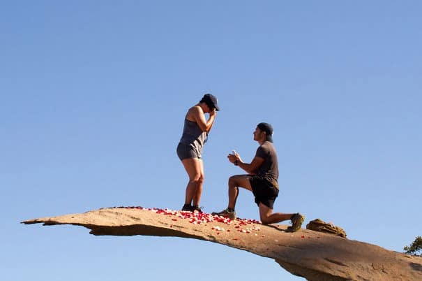 propuesta en potato chip rock