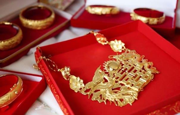 regalos de boda en China