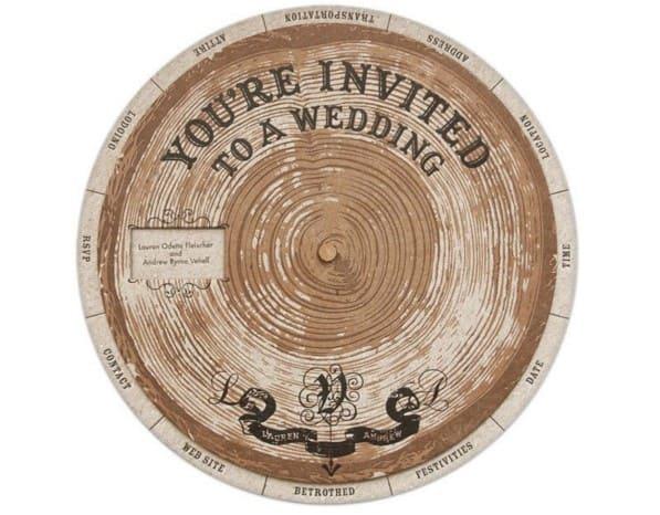 invitacion de boda rosco