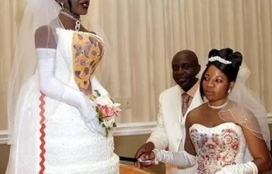 tarta de boda figura de novia