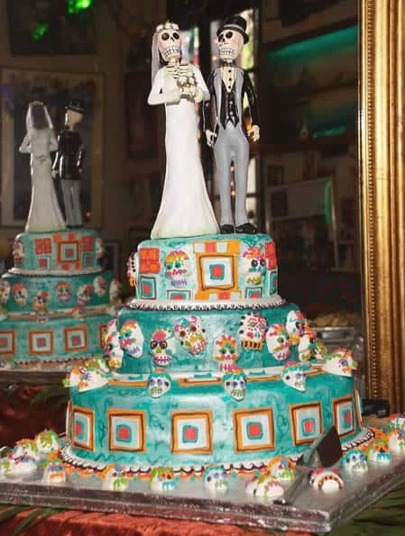 tarta de boda terror