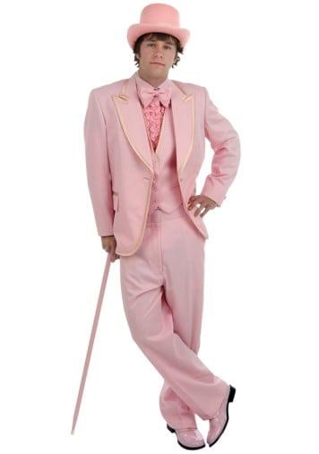 traje rosa de Halloween