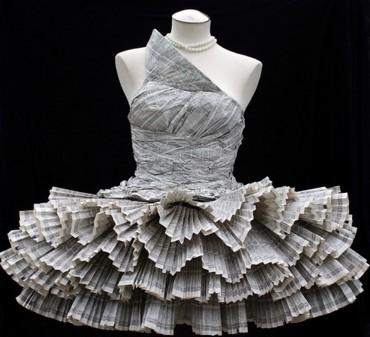vestido de boda raro