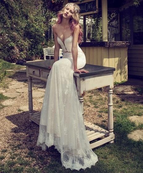 vestido de novia mermaid