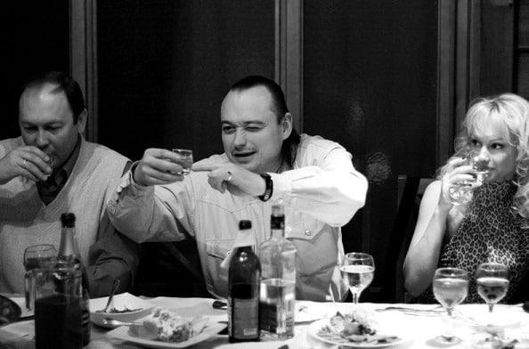 vodka en boda rusa