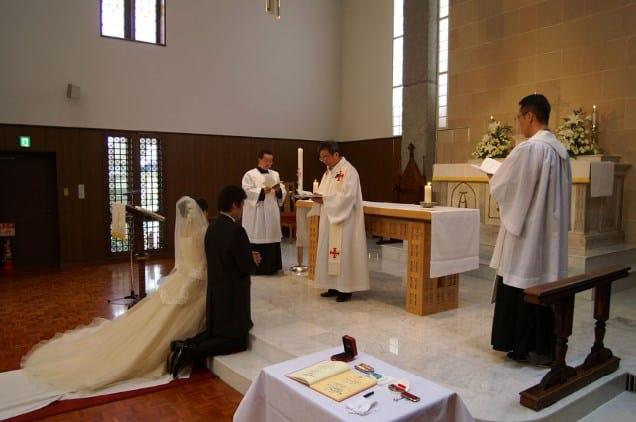 Boda por Iglesia en Japon