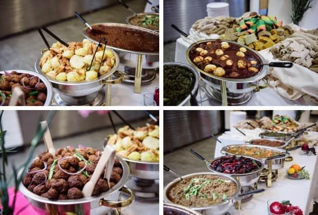 boda etiope comida