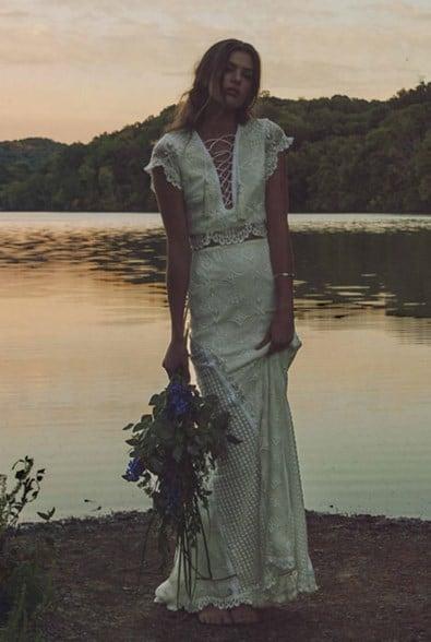 hippie wedding dress 2