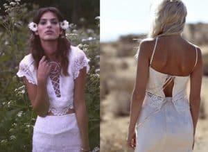 Vestidos de Novia Hippie y Boho Para Las Que Quieren Ser Diferentes