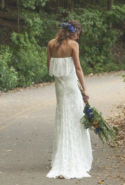 Donde comprar vestidos de novia hippie