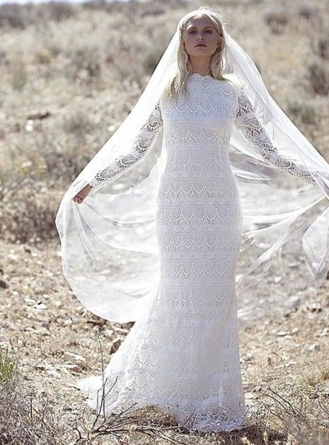 vestido original para la novia 2