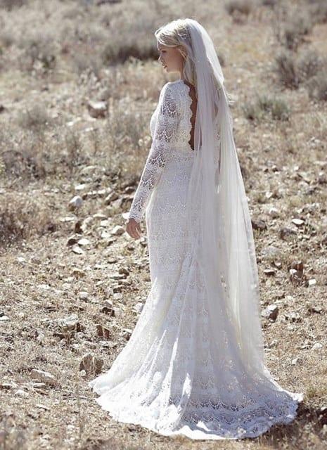 vestido original para la novia