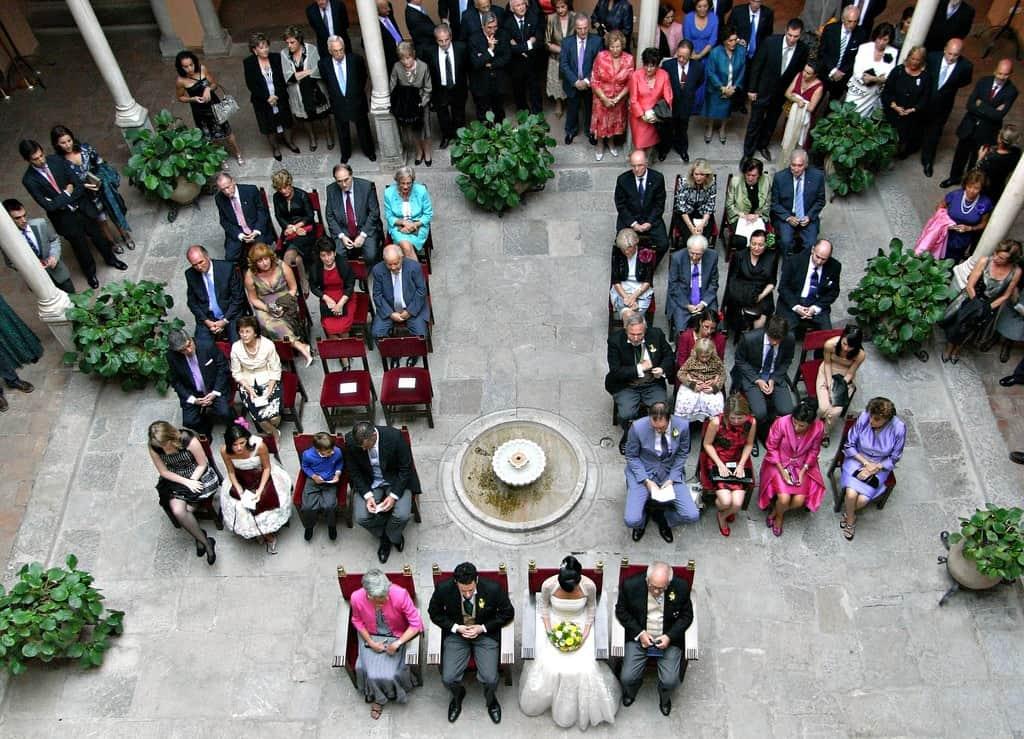 ceremonia de boda española