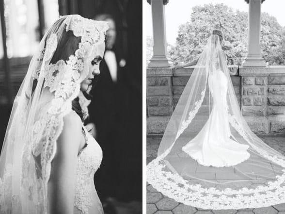 mantilla de novia española