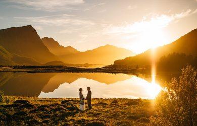 bonita boda en noruega
