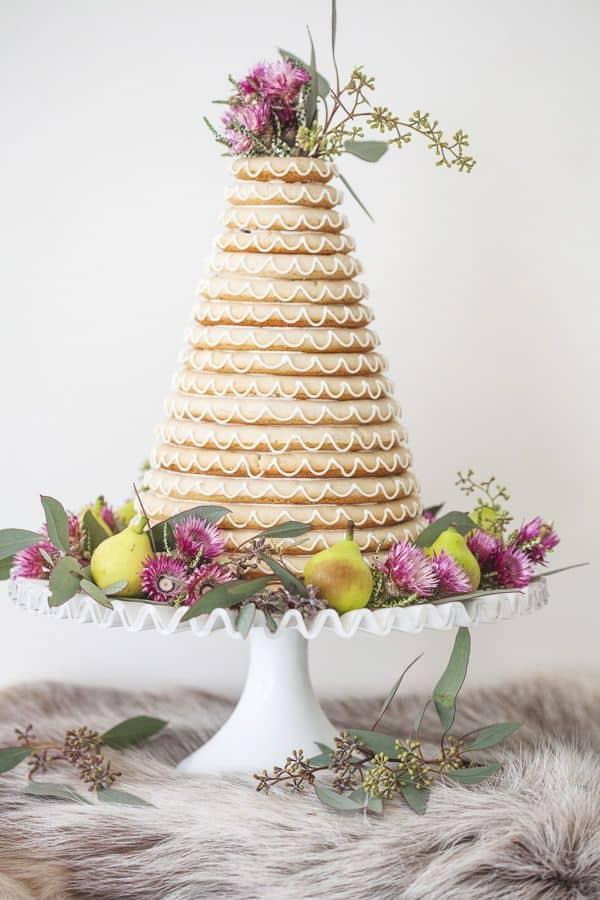 tarta de boda noruega