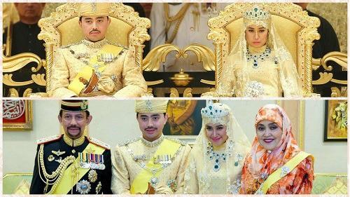 La boda del príncipe de Brunei