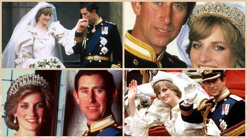 Príncipe Charles y Diana Spencer