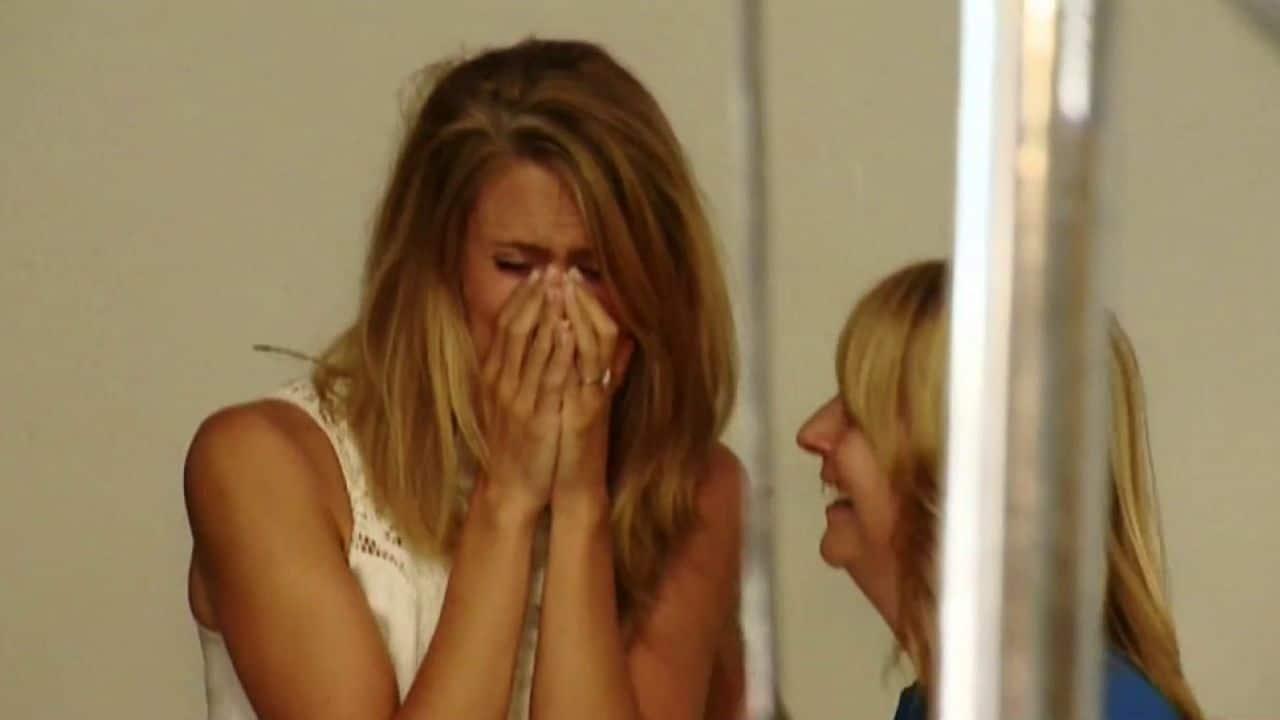 novia llorando