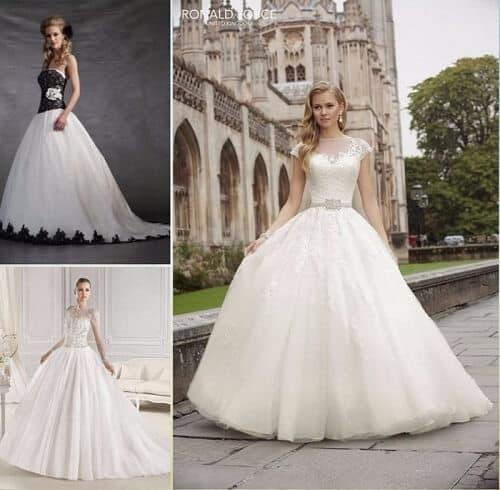 ▷ 10 cortes de vestidos de novia ideales【tendencia 2018】