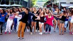 flashmob pedida de mano